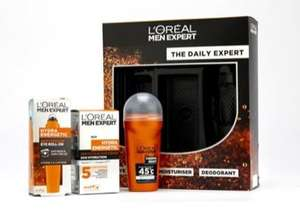 L'oreal Men Expert gift set was £19.99 now £9.99, Superdry Body wash and sock gift set was £10 now £6.67, Ted Baker set was £16 now £10.67 more in post @ Boots