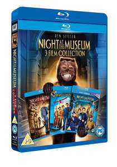 Night at the Museum 1/2//3  Blu ray box set £7.99 @ HMV