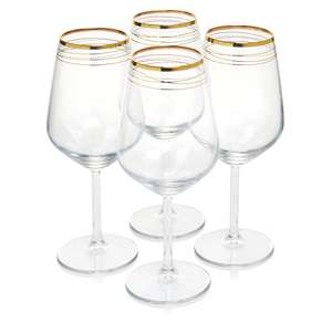 Wine Glasses and Champagne Flutes £3 was £10 for set of 4 @ Wilko