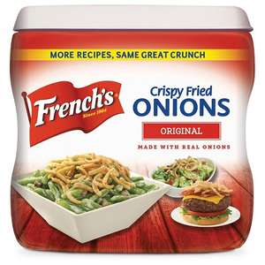 French's French Fried Onions Original Flavour 39p in Heron