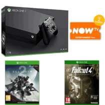 Xbox One X w/ Destiny 2, Fallout 4 and 2 Months NowTV £419.99 @ Game