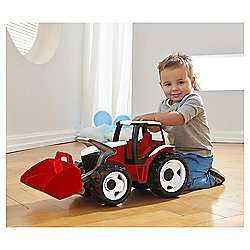 Powerful Giants tractor with trailer - £17.50 @ Tesco Direct (free C&C)
