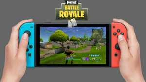 Fortnite Battle Royale Releases On Nintendo Switch 12th June FREE - NOW LIVE