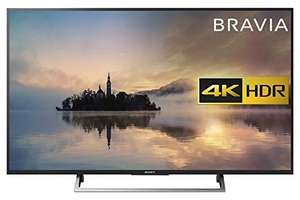 "Sony Bravia KD55XE7093BU 55"" 4K HDR Smart TV (2017 exclusive model) - Black [Energy Class A+] + free blu ray player offer £538.97 @ Amazon"