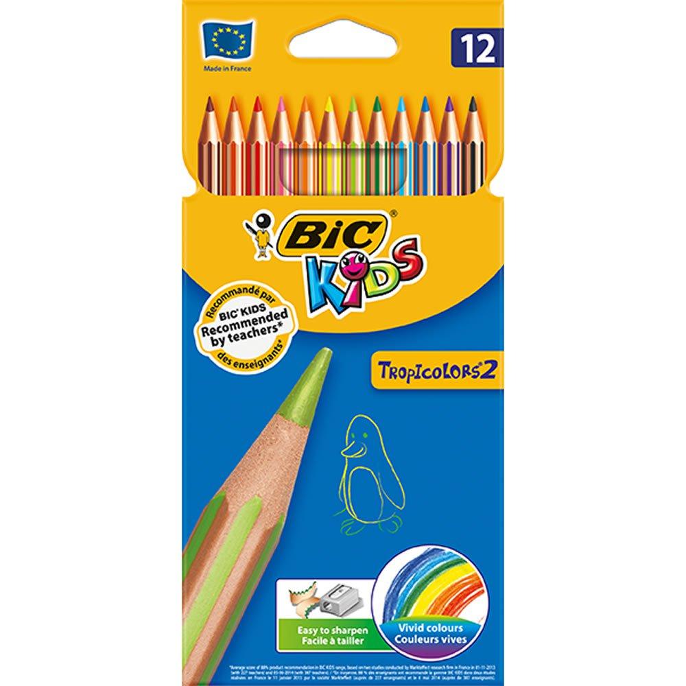 Bic Pencil Crayons Tropicolours 12pk £2 @ Wilkos