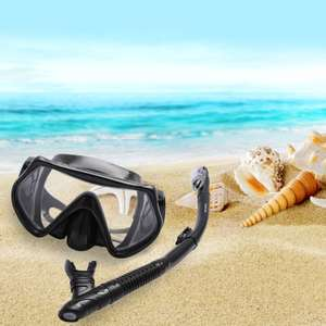 Snorkel Set £19.89 Prime £24.38 Non Prime Sold by Bezzee and Fulfilled by Amazon