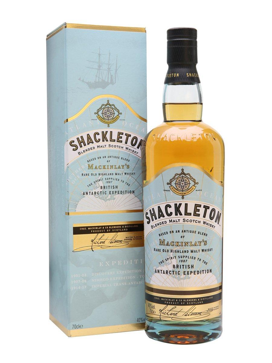 Shackleton Blended Malt Scotch Whisky, 70 cl only £20 @ amazon