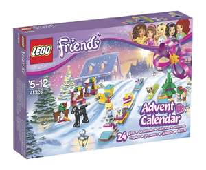 Lego Friends Advent Calendar £14.95 (Prime) £19.44 (Non Prime) @ Sold by a1 Toys Fulfilled by Amazon