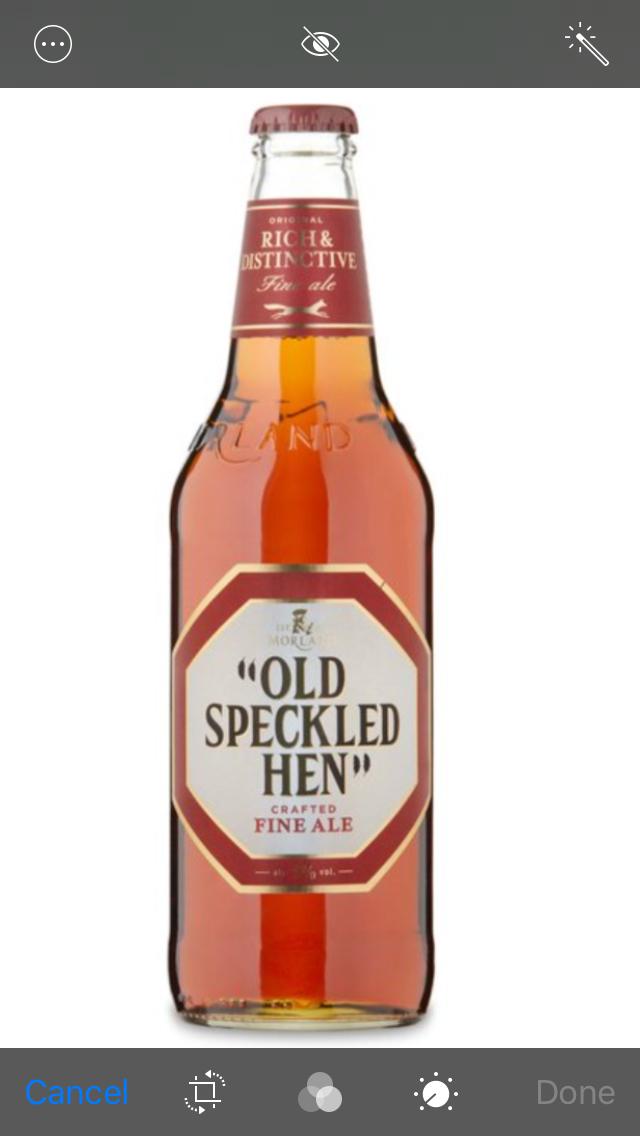 Old Speckled Hen 500ml bottles at Morrisons £1