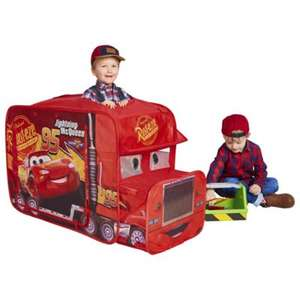 Lightening McQueen \ Paw Patrol Chase Police Truck play tent £15 @ Tesco (free C&C)