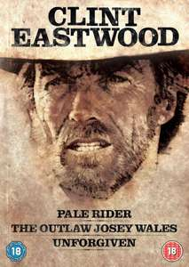 Clint Eastwood Westerns Collection (Pale Rider, Unforgiven, The Outlaw Josey Wales) Blu-ray £7.99 delivered @ The Entertainment Store on Ebay