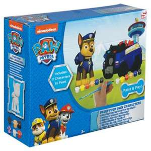 PYO Paw patrol Character & Vehicle £7.50 @ Tesco Direct (Free C&C)