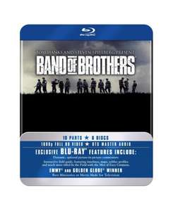 Band Of Brothers HBO Complete Series (Commemorative 6-Disc Gift Set In Tin Box) Blu-Ray £13.99 Delivered @ 365 Games