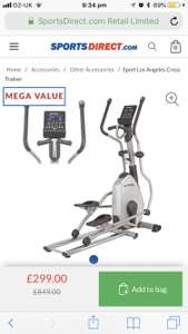 Rex Rossler Cross Trainer - £299.99 @ Sports Direct