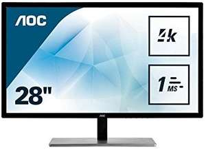 "AOC U2879VF 28"" LED 4K monitor £229.97 @ Amazon"