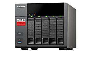 Qnap 5 bay NAS with 8gb ram loaded with 5x2tb WD red hdds £579.45 Amazon