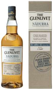 Glenlivet Nadurra (Peated) cask strength malt whisky - 70cl - £37.90 @Amazon
