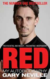 Red: My Autobiography by Gary Neville (Kindle) - 99p @ Amazon