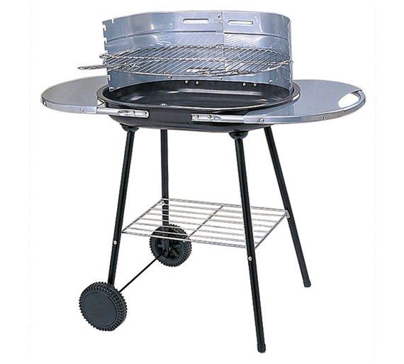 Oval Steel Trolley Charcoal BBQ - £19.99 @ Argos