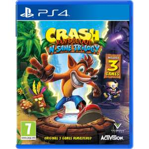 Crash Bandicoot N.Sane Trilogy PS4 £15 - free next day delivery @ AO