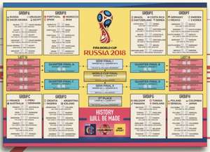 World Cup Wall Chart BBC Free Download