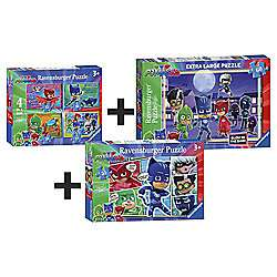 PJ Masks 6 jigsaws bundle now £8 @Tesco