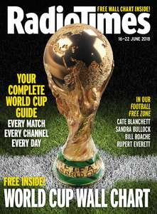 World Cup 2018 wall chart: FREE in this week's Radio Times - £2.80
