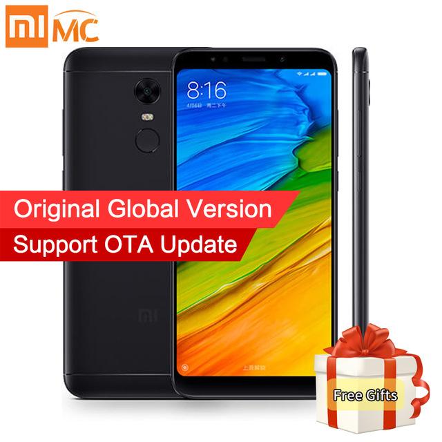 Sale now on - Free Case! Global Version Xiaomi Redmi 5 Plus 4GB 64GB @ Xiaomi mc store / Aliexpress