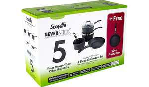 Scoville Neverstick 5 Piece Cookware Set £35 @ Asda
