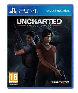 Uncharted: The Lost Legacy - PS4 £10.99  Ex Rental @ boomerang / ebay