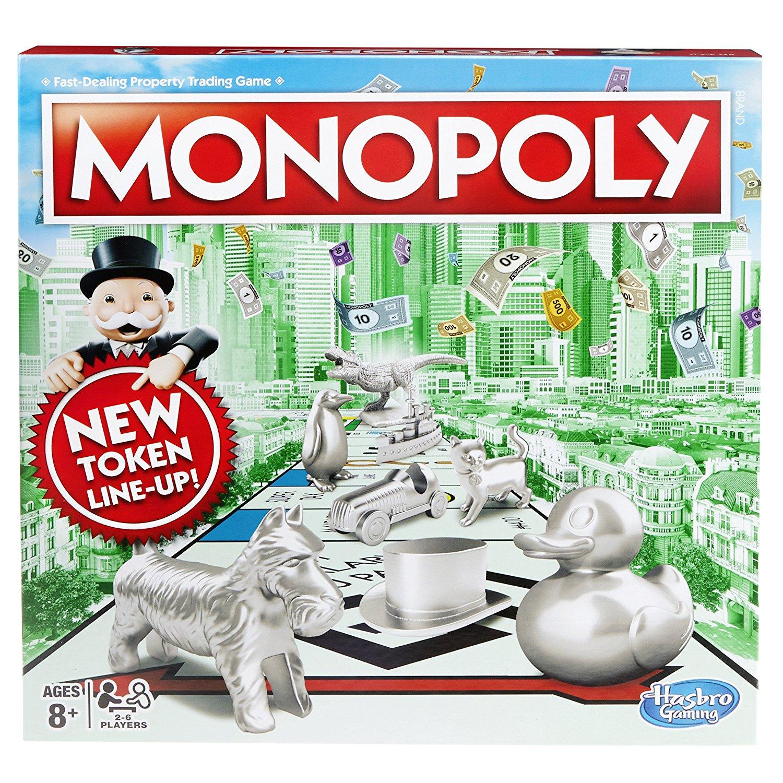 Hasbro Gaming Monopoly Classic Game - £11 (Prime) / £15.49 (non Prime) at Amazon