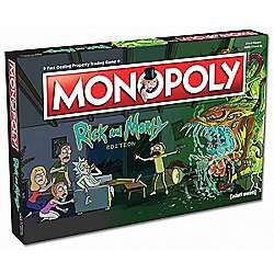 rick and morty monopoly £15 (and other rick and morty board games) half price @ Tesco