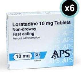 Loratadine 6 months supply £4.79 with free delivery at pharmacyfirst