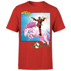 Marvel Deadpool Unicorn battle mens and womens 100% cotton t-shirts were £14.99 now £8.99 delivered / Nintendo Phone Case & A3 Licensed Print £12.99 @ mygeekbox
