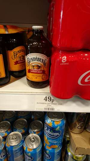Bundaberg diet ginger beer 375ml - 49p @ home Bargains prenton / wirral