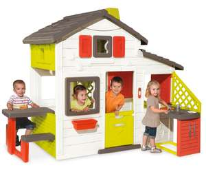 SMOBY Playhouse with kitchen £155  @ Tesco Direct