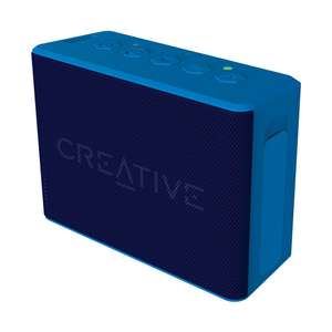 Creative MUVO 2c Palm Sized Water Resistant Bluetooth Speaker with Built-In MP3 Player - Blue £23.26 @ Amazon