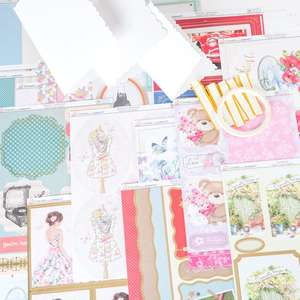 All Occasions Card Collection Get The Nation Crafting makes 24 cards (75 piece collection) £5 Delivered @Create and Craft