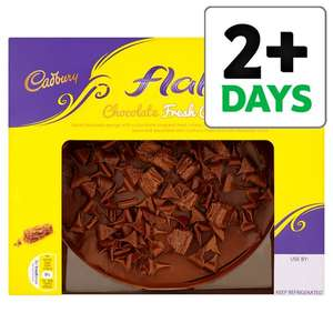 Cadbury Flake Chocolate Fresh Cream Cake 430G £2.00 @ Tesco Instore