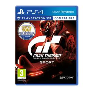 Gran turismo sport PS4 £15.99 @ Smyths