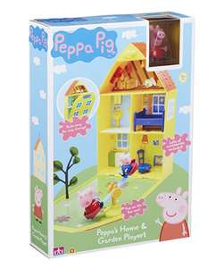 Peppa Pig house and garden play set at Amazon £10 (prime) / £14.49 non prime