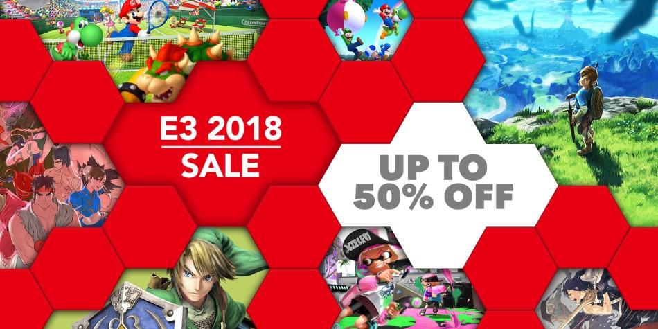 Nintendo eShop E3 2018 sale from June 14th until June 21st