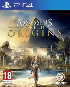 Assassin's Creed Origins (PS4) £25 on Amazon + Free Delivery