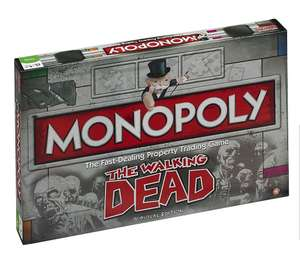 Half Price Monopoly sale @ Tesco The Walking Dead Monopoly Board Game - £15
