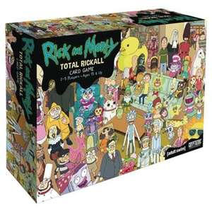 Total Rickall Rick and Morty Cooperative Card Game - £7.50 @ Tesco Direct