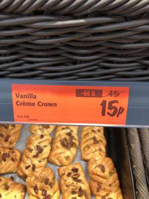Vanilla crown now only 15p @ Lidl