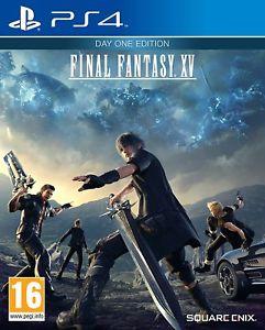 Final Fantasy XV: Day One Edition (PS4) (Ex-Rental) £6.99 @ boomerang / ebay
