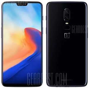 OnePlus 6 4G Phablet Global Release - MIRROR BLACK £415.68 @ Gearbest