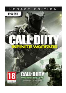 Call Of Duty: Infinity Warfare Legacy Edition PC (includes COD4 Remaster) £7.99 @ GAME