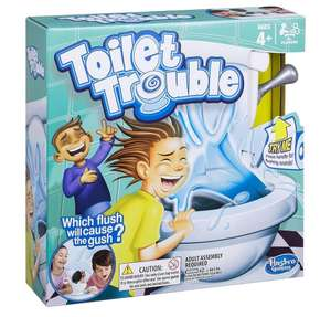 Toilet Trouble From Hasbro Gaming £9.00 @ Tesco Direct (C&C)